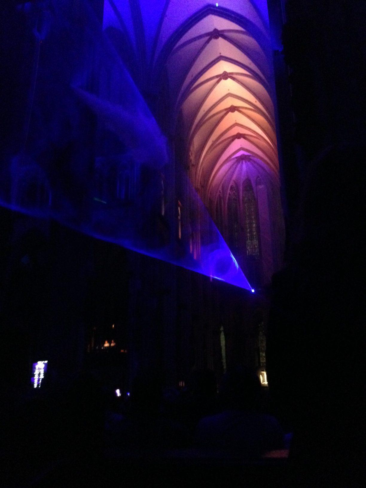 silentMOD im Kölner Dom