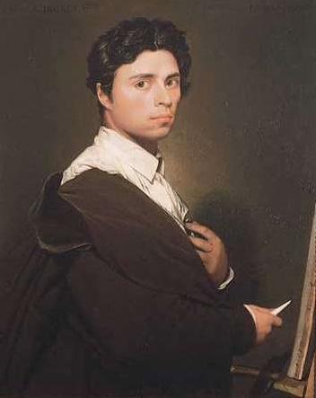 Selbstbildnis, Öl auf Leinwand, ca. 1800
