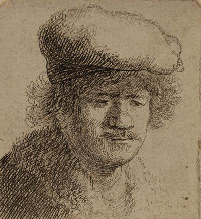 Rembrandt Harmensz. van Rijn Selbstbildnis