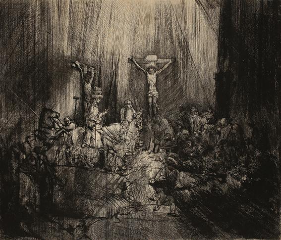 Rembrandt Harmensz. van Rijn Die drei Kreuze