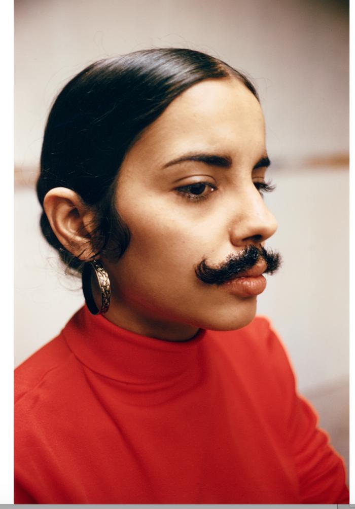 Ana Mendieta Ohne Titel (Facial Hair Transplants), 1972 (1997) Museum Ludwig © VG Bild-Kunst, Bonn 2020 Foto: Rheinisches Bildarchiv Köln / Sabrina Walz